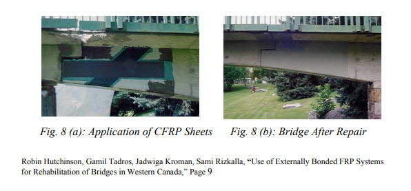 CFRP Strengthened Concrete